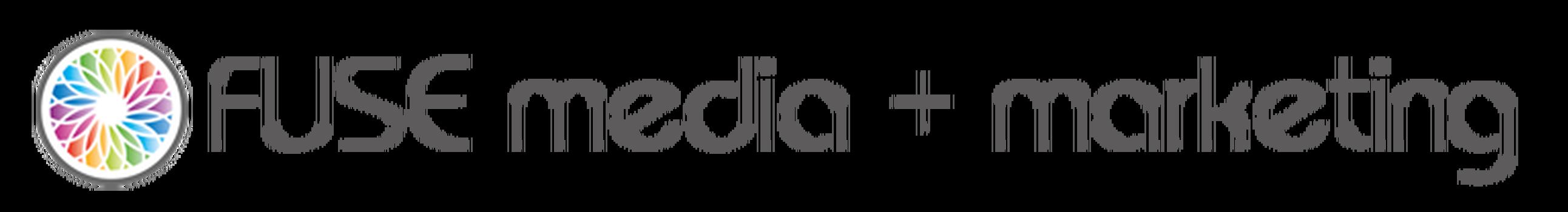 FUSE media + marketing logo