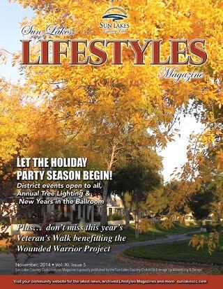 Sun Lakes Lifestyles November 2014