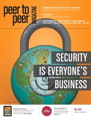 Fall 2014: Security Is Everyone's Business