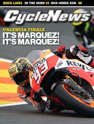 Cycle News 2014 Issue 45 November 11