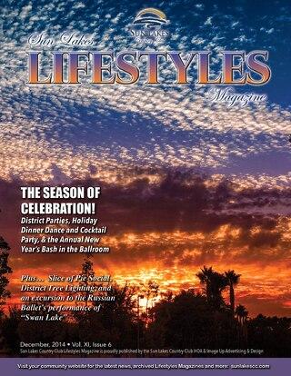Sun Lakes Lifestyles December 2014