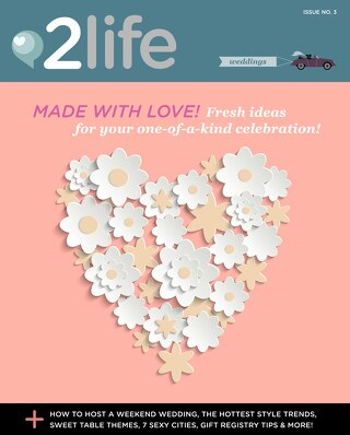 2life Weddings Issue 3 — Canadian Edition
