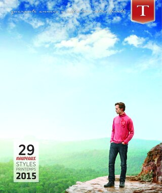 2015 Spring Catalogue - French