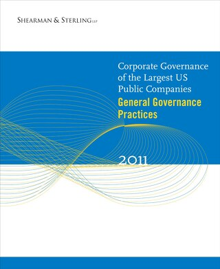 2011 General Governance Survey