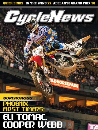 Cycle News 2015 Issue 52 January 13 2015