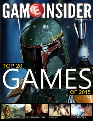 Top 20 Games of 2015 Cover Story
