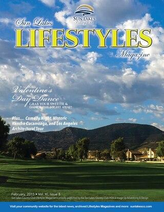 Sun Lakes Lifestyles February, 2015