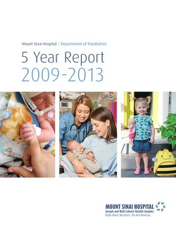 Link to Department of Paediatrics 5 year report 2009-13