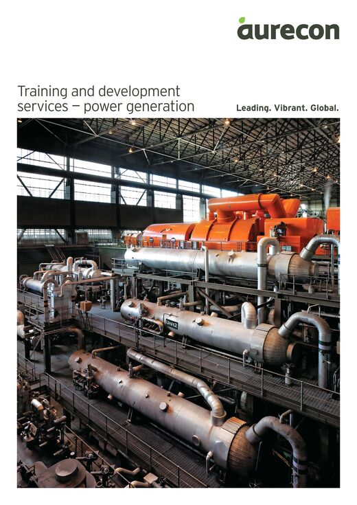 Training and Development Services_Power Generation Competency Brochure