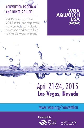 WQA Aquatech USA Convention Program & Buyer's Guide 2015