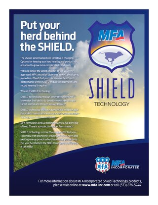 Put your herd behind the SHIELD
