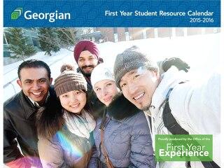 First year student resource calendar 2015-2016