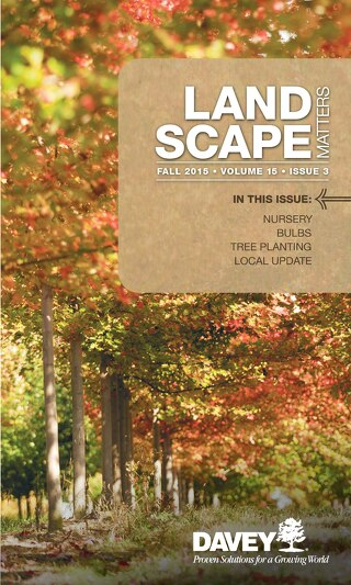 Landscape Matters: Fall 2015 Issue
