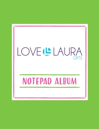 LOVE, LAURA NOTEPAD ALBUM