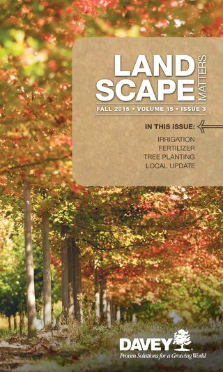 Landscape Matters: Fall 2015 Southern Issue