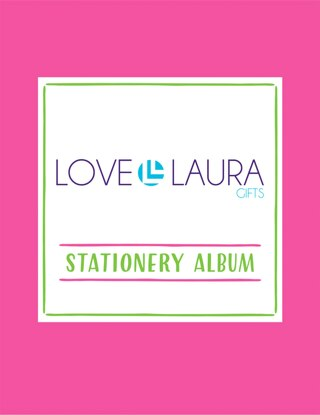 LOVE, LAURA STATIONERY ALBUM