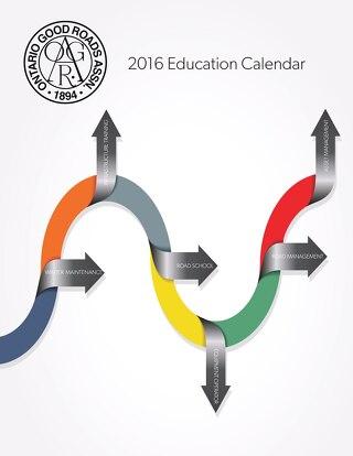 ONLINE VERSION 2016 OGRA Education Calendar Oct 08