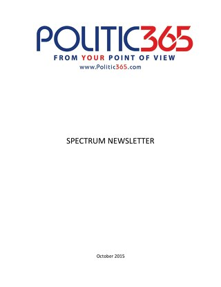 Spectrum Newsletter Oct 2015