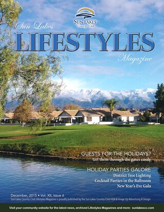 Sun Lakes Lifestyles Dec. 2015