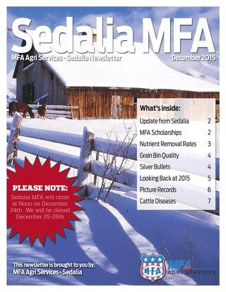 2015 December Sedalia Newsletter - FINAL