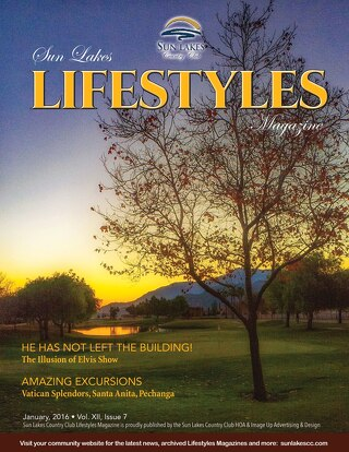 Sun Lakes Lifestyles January 2016