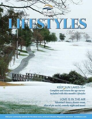 Sun Lakes Lifestyles February 2016