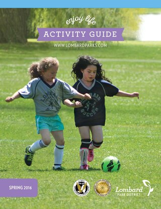 2016 Spring Activity Guide