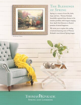 2016 Spring Catalog - Thomas Kinkade Gallery