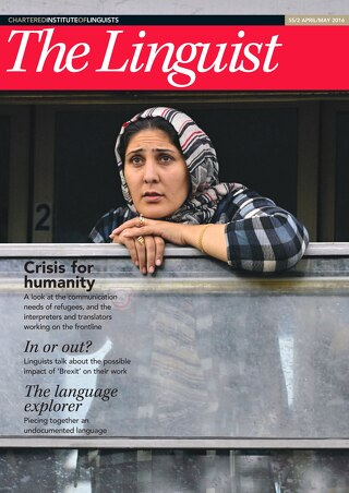 The Linguist 55,2 – April/May 2016