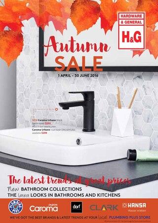 Autumn Sale 1 April - 30 June 2016
