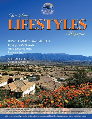 Sun Lakes Lifestyles May 2016