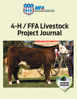 4-H / FFA Livestock Project Journal
