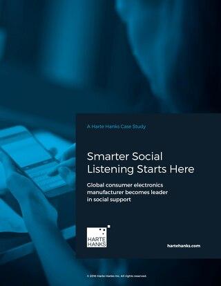 Smarter Social Listening Starts Here