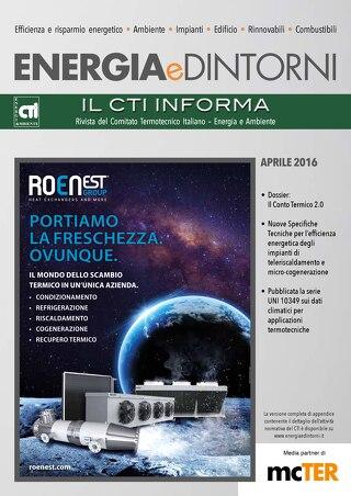 ENERGIA E DINTORNI - APRILE 2016