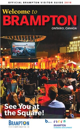 2016 Brampton Visitor Guide