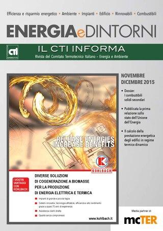 ENERGIA DINTORNI NOVEMBRE - DICEMBRE 2015