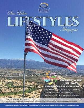Sun Lakes Lifestyles Magazine June 2016