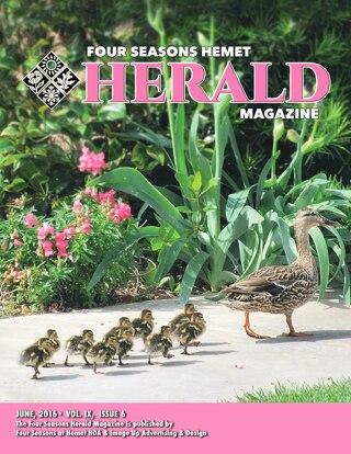 Four Seasons Hemet Herald June 2016