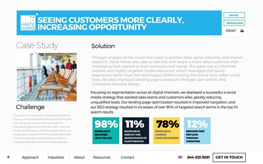 Seeing Customers More Clearly, Increasing Opportunity