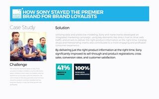 How Sony Stayed the Premier Brand for Brand Loyalist