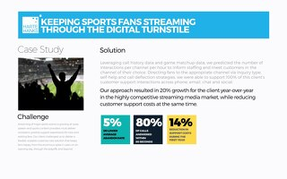 Keeping Sports Fans Streaming Through The Digital Turnstile