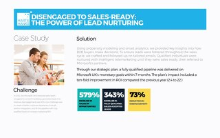 Disengaged to Sales Ready: The Power of Lead Nurturing