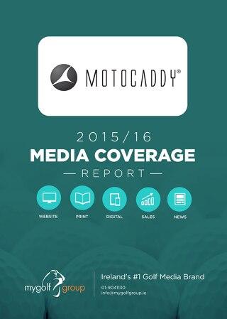 Motocaddy Media Coverage Report