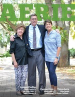 Cover of the 2016 Spring Edition of Palmer Trinity School's Aerie magazine