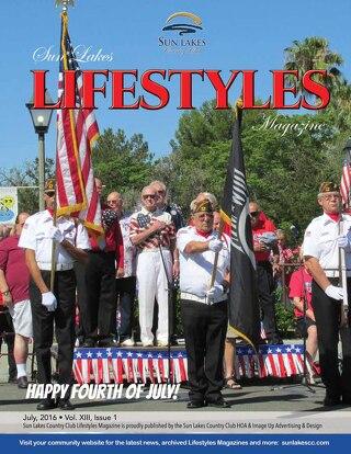 Sun Lakes Lifestyles July 2016
