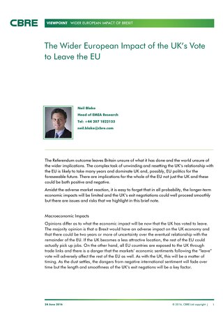 View Point - UK referendum – Vote to leave the EU_NB2506