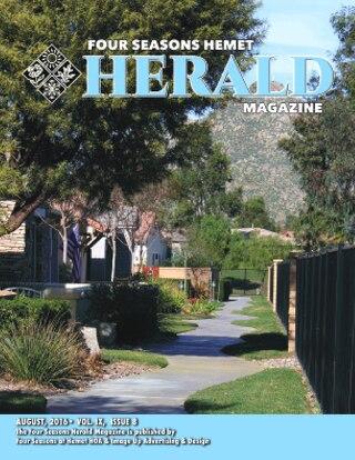 Four Seasons Hemet Herald, August 2016