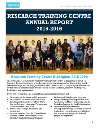 RTC Annual Report 2016