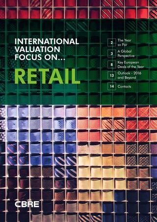 CBRE International Valuation - Focus On Retail
