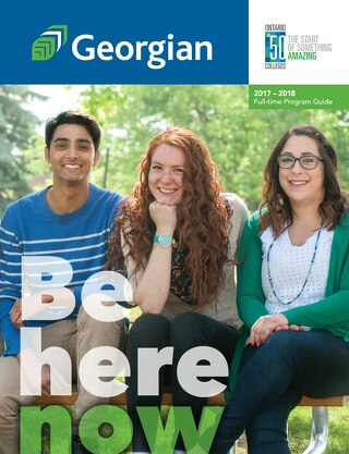 Georgian College 2017-2018 Full-time program guide